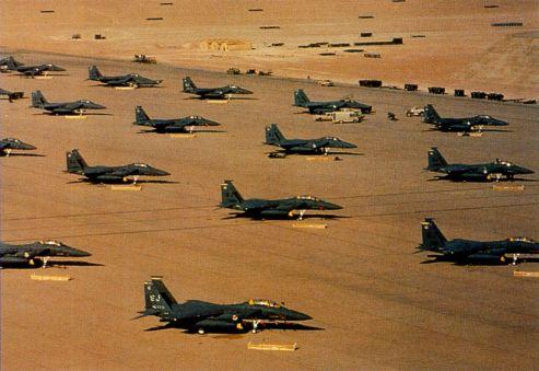 Истребители-бомбардировщики F-15E