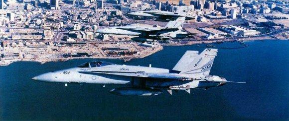 F/A-18 хорошо показали себя в боевых действиях