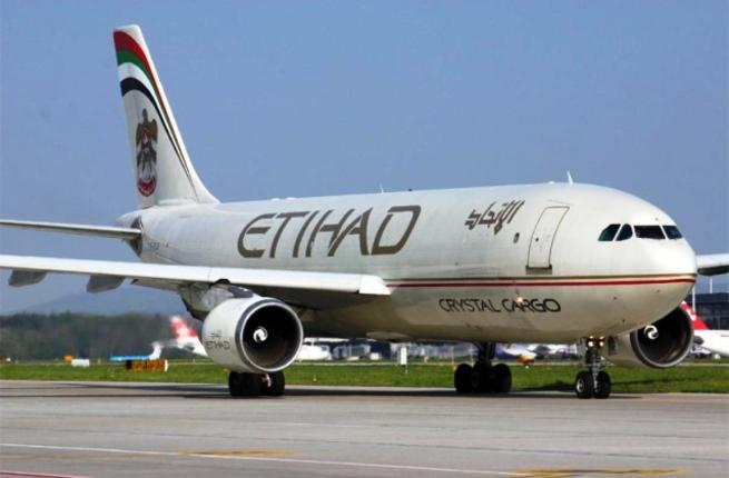 Грузовой трафик Etihad Airways