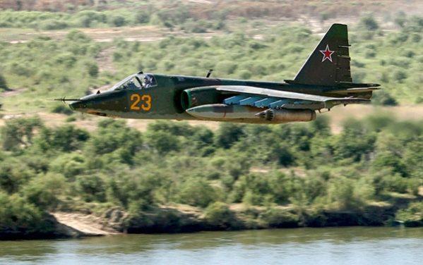 Су-25 «Грач» — бронированный дозвуковой штурмовик