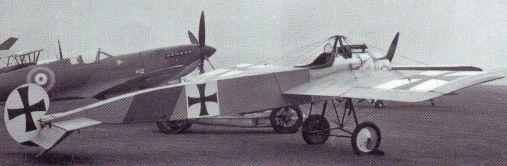 Немецкий истребитель-моноплан Фоккер E.III