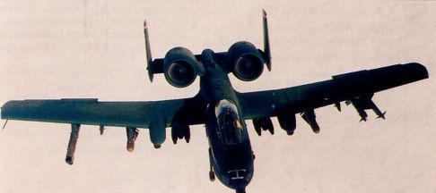 Штурмовики A-10 Thunderbolt