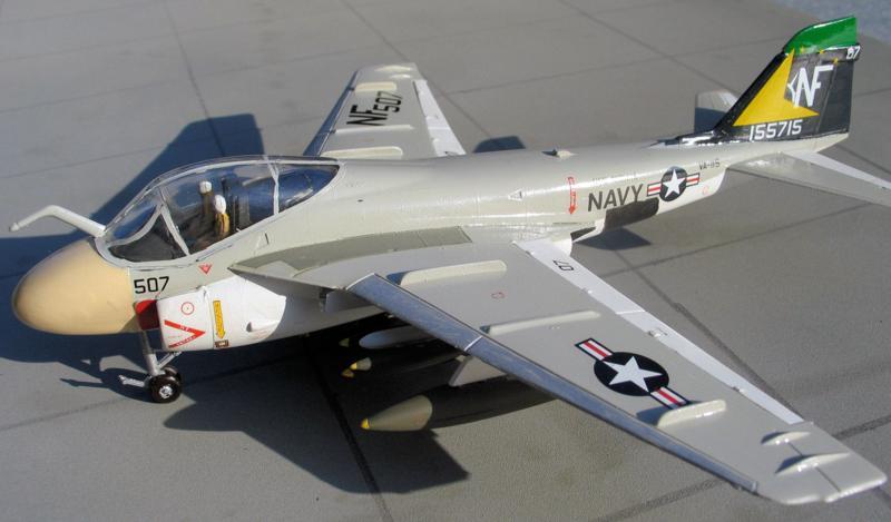 A-6А Intruder из эскадрильи VA-85