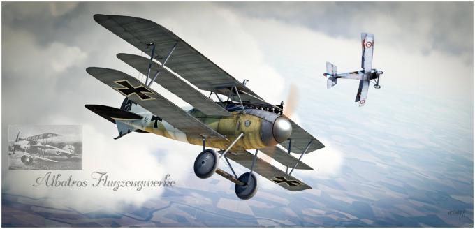 Истребители Первой мировой. Обзор