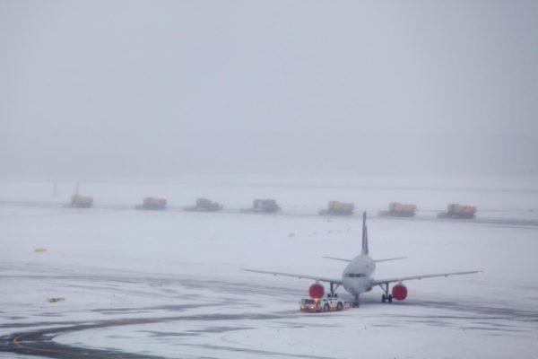 отменили рейсы из-за мороза