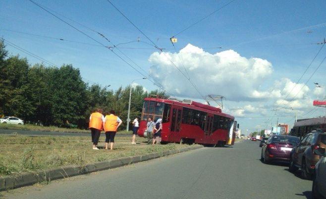 столкновение двух трамваев