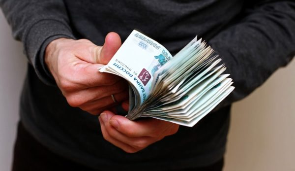 Средняя сумма взятки в Москве