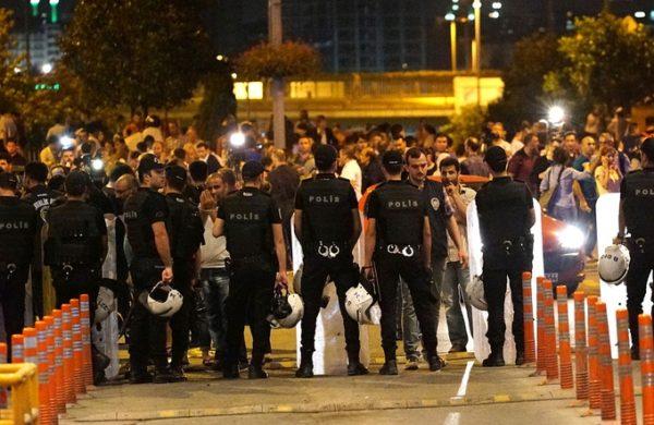 вылазка исламистов в Стамбуле