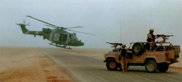 Super Lynx в войне против Ирака