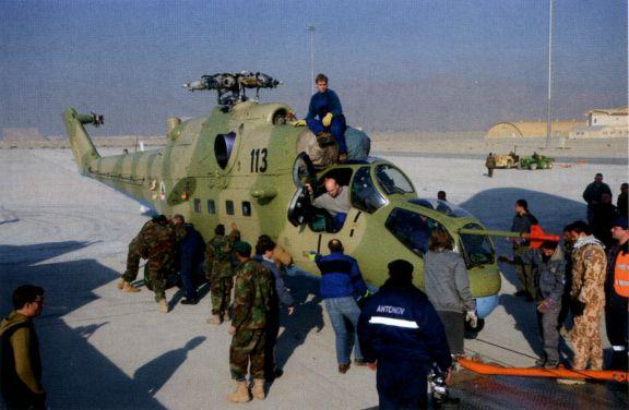 новый вертолёт Ми-24 для авиации Афганистана