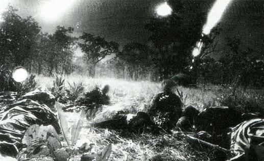 Измотанные и окружённые противником американские войска