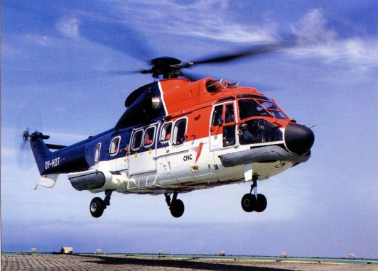 вертолёты Super Puma