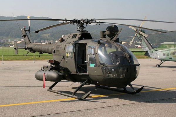 Лёгкий универсальный вертолёт MBB Bo 105