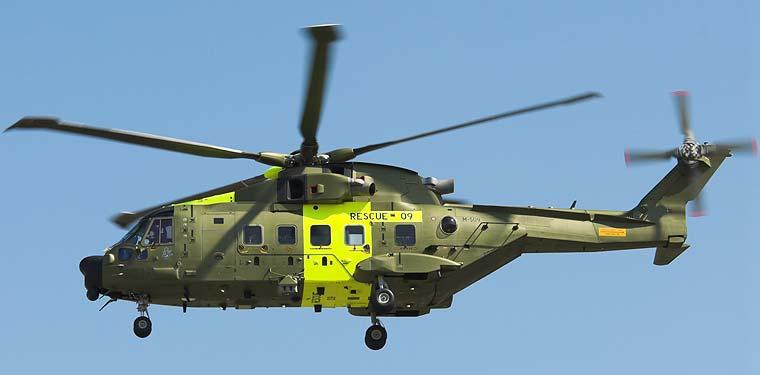 Англо-итальянский многоцелевой вертолёт Agusta Westland AW101. Обзор