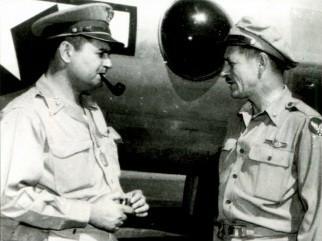 ЛеМей и бригадный генерал Роджер Рэмей