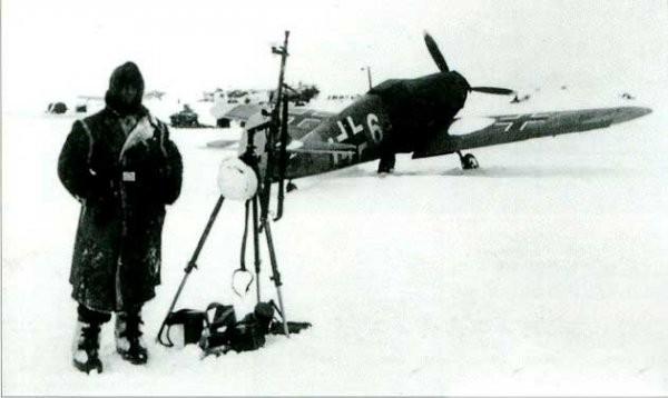 Истребители Bf 109F