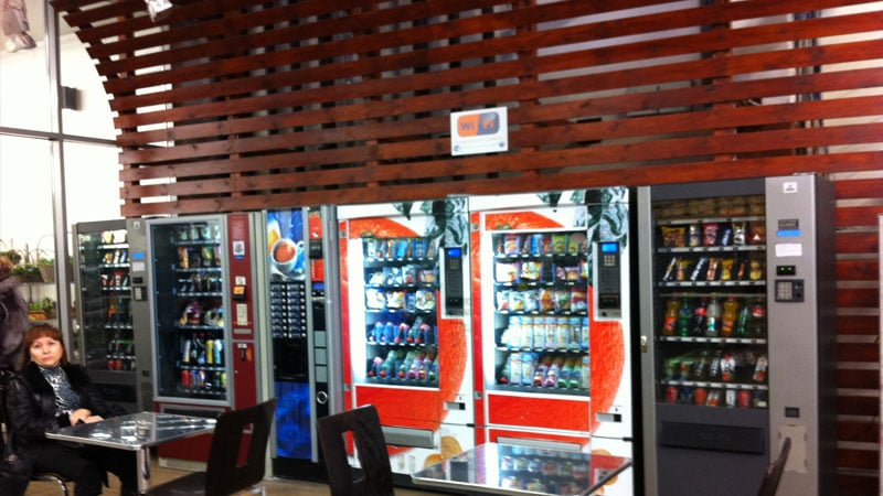 Автоматы с едой