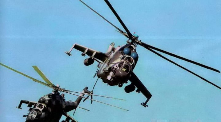 Поздние модификации Ми-24: часть I