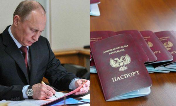 документы ДНР и ЛНР