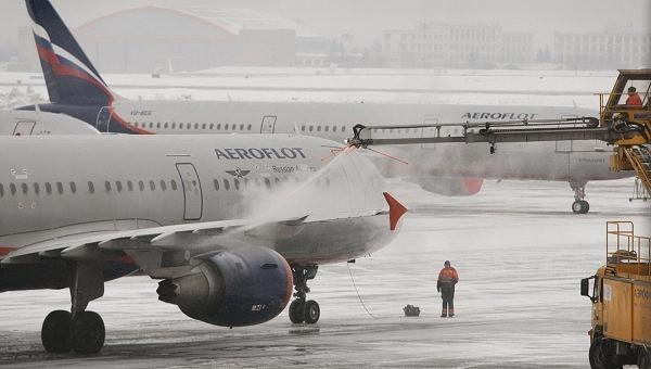 из-за непогоды отменены девять рейсов