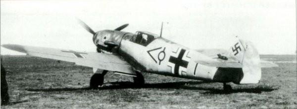 Bf 109F-2 лейтенанта Юргена Хардера