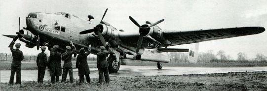 Halifax VI, RG815 Mercury
