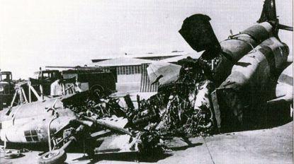 уничтоженный истребитель-бомбардировщик F-4 Phantom II ВВС Ирана