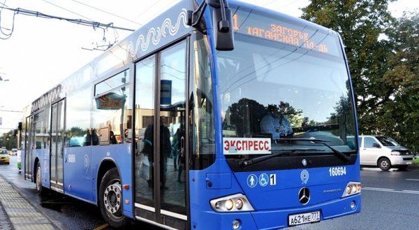Новый полуэкспрессный автобус