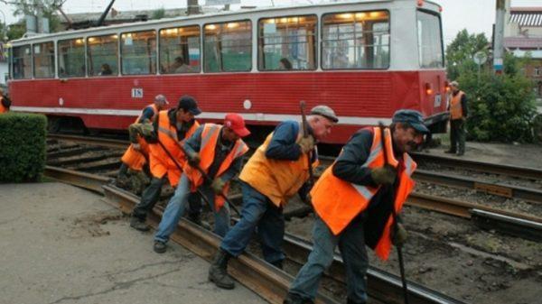 трамвайные пути реконструируют в Москве