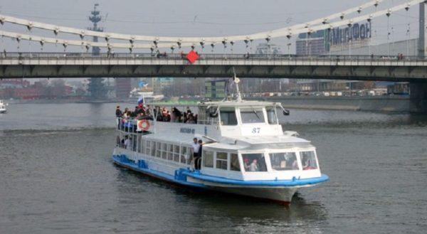 речной транспорт в столице