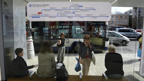 Электронные табло на столичных автовокзалах