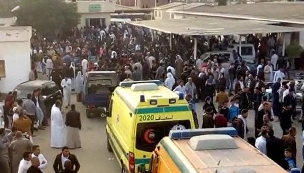 нападение на два автобуса и грузовик с христианами-коптами