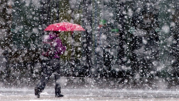 Сочи: дождь и снег