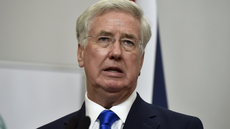 Министр обороны Британии