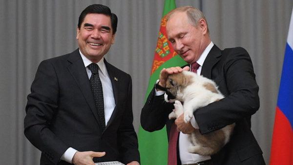 отношение Путина к собакам