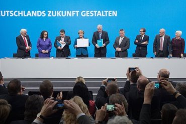 новые переговоры о формировании коалиции