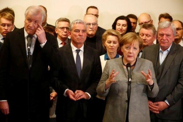 переговоры о формировании коалиции
