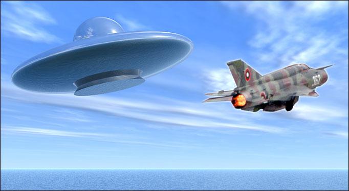 НЛО атаковали военных