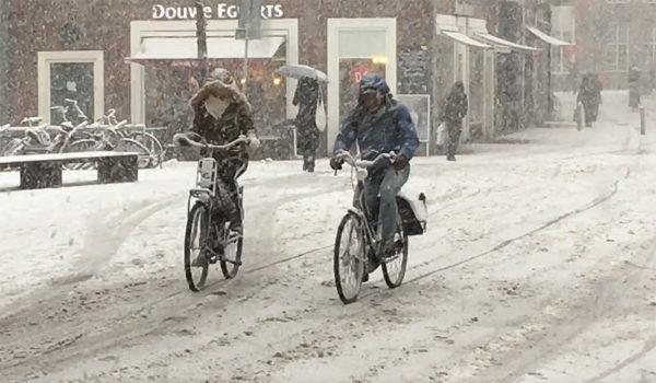 Велодорожка с подогревом