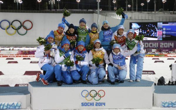 на зимней Олимпиаде