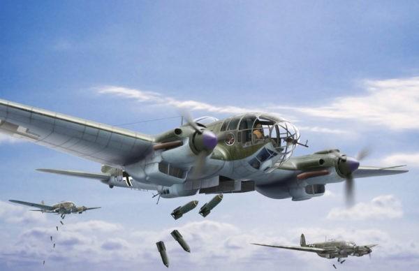 бомбардировщик He 111