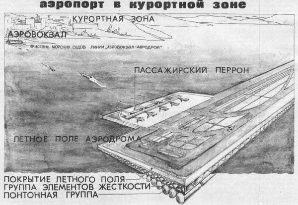 Аэропорт будущего в курортной зоне