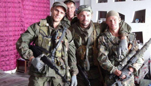 группа российских наемников