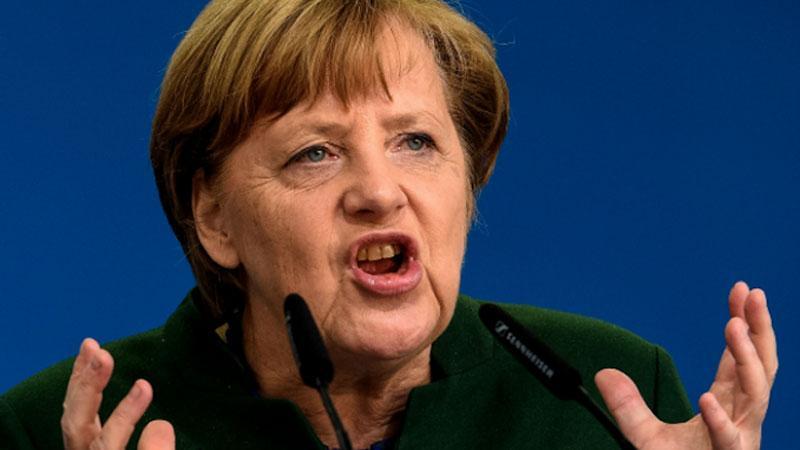 злая Меркель