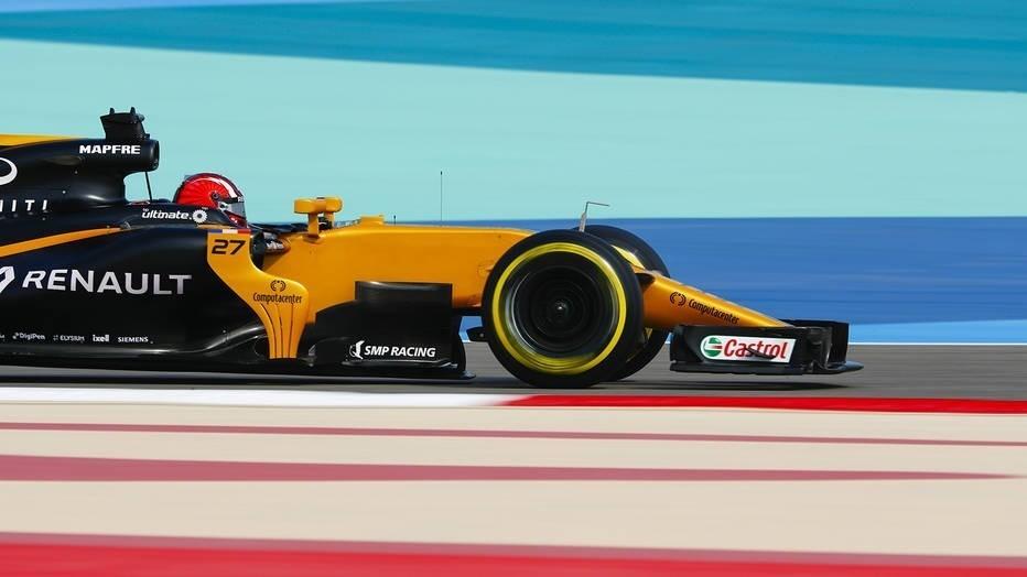 болид немецкого пилота Renault
