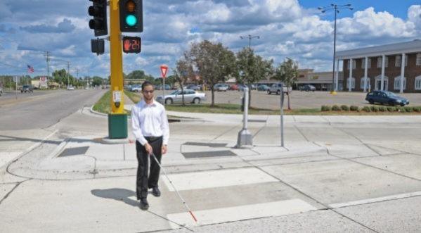 система оповещения пешеходов