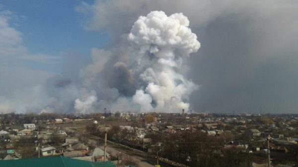 Нардеп: власть не сделала выводы после предыдущих взрывов на складах боеприпасов