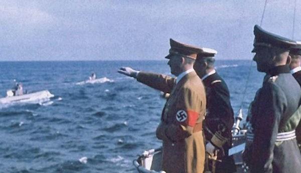 подводная лодка из знаменитого «конвоя Гитлера»