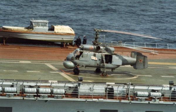 Противолодочный вертолет Ка-25ПЛ