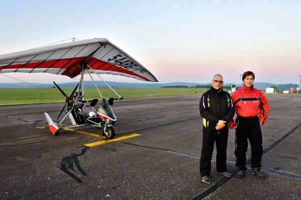 Отец и сын преодолели по прямой без остановок 738,9 км